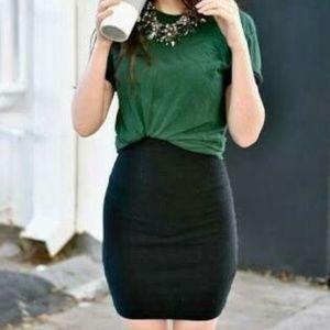 ⭐Loft Black Skirt with Pockets
